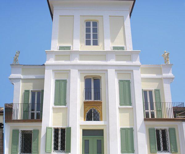 Restauro di Villa Carolina: soluzione all'umidità di risalita