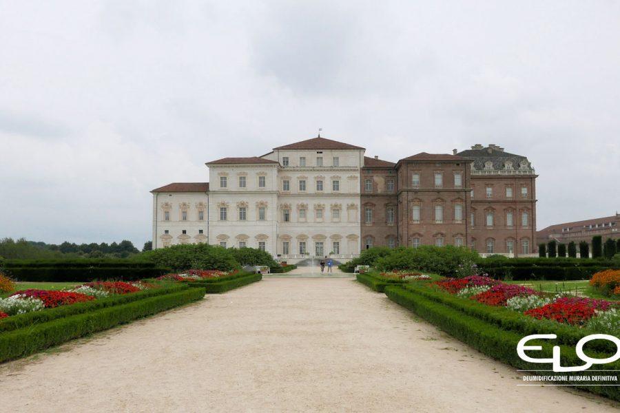 Recupero edifici storici: la Reggia di Venaria Reale