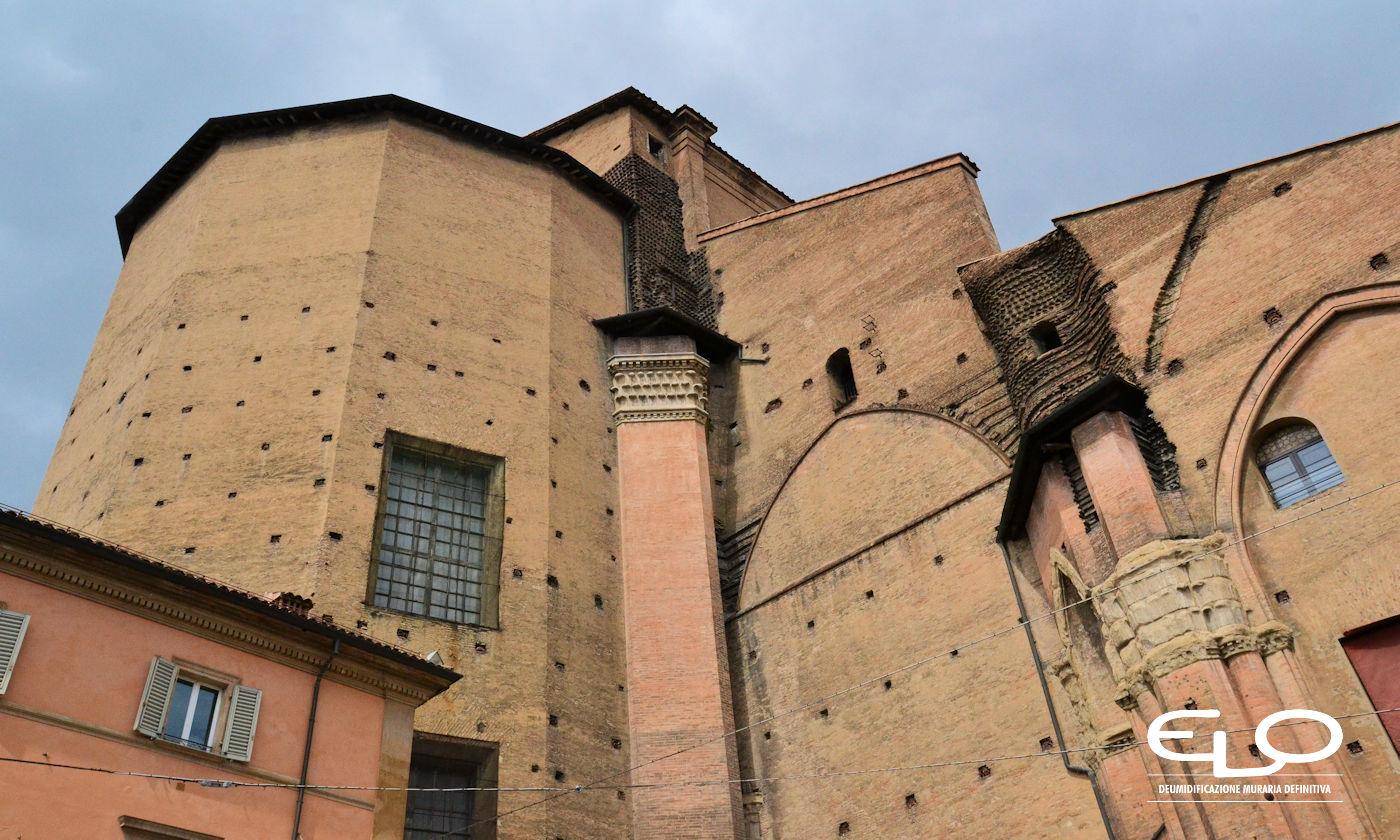 Umidità negli edifici storici - San Petronio retro