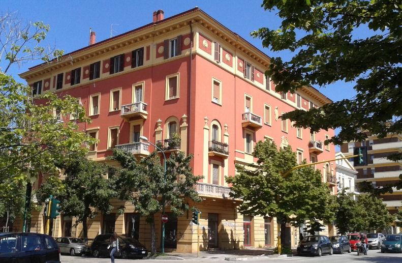 Eliminare l'umidità dai muri di Palazzo Rosso a Pescara