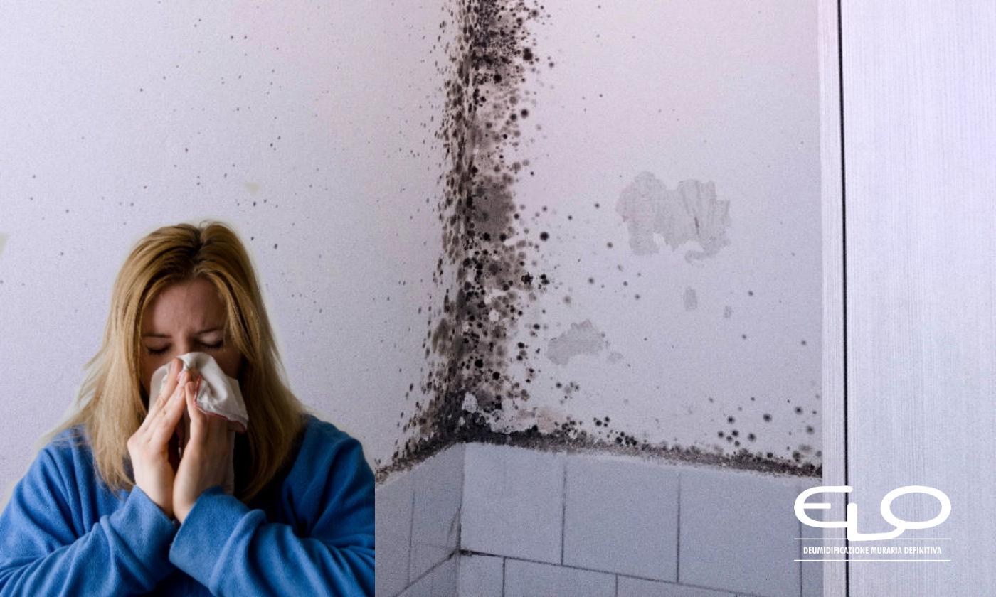 Umidità e muffa: le ripercussioni sulla salute