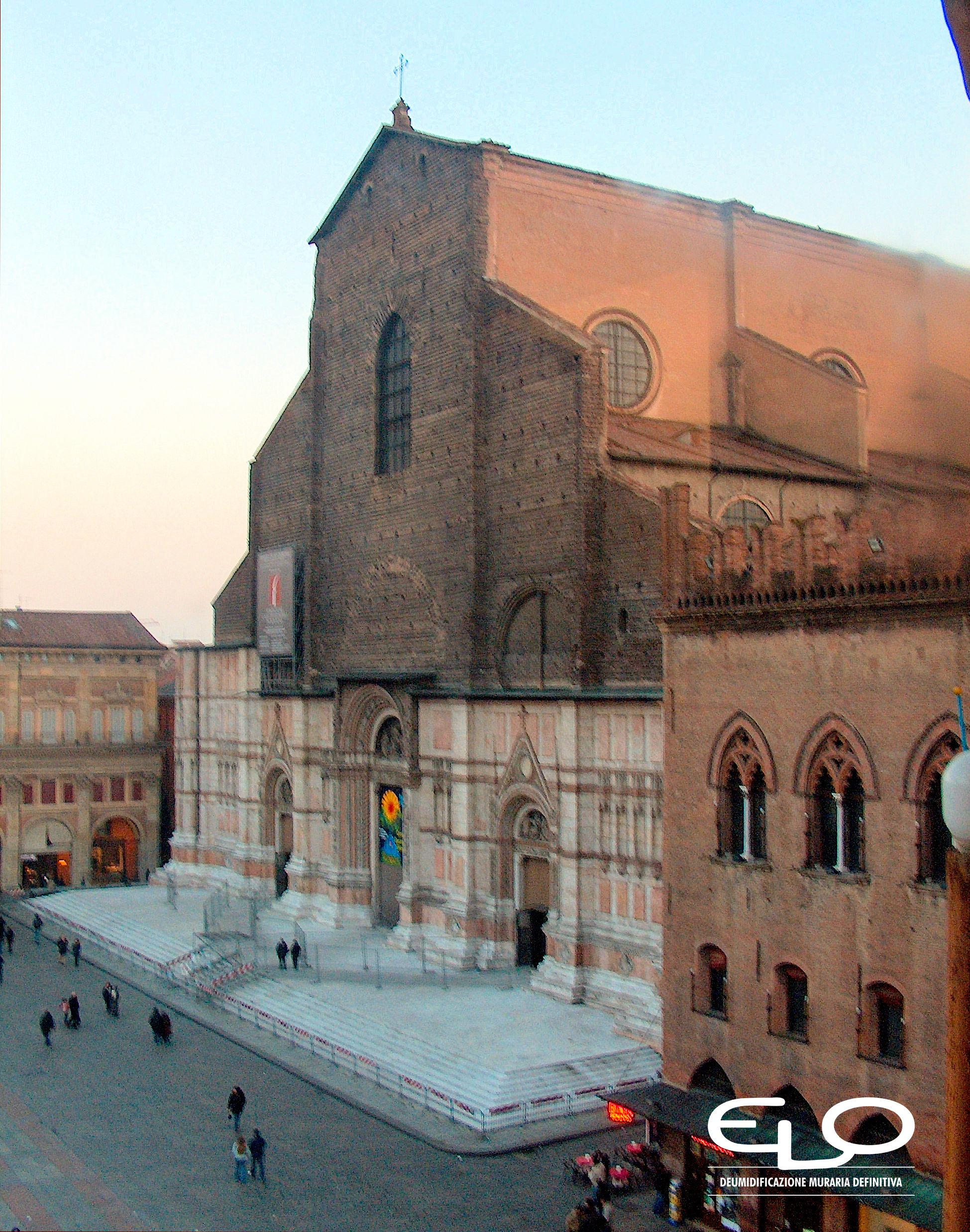 Umidità negli edifici storici - San Petronio da palazzo comunale