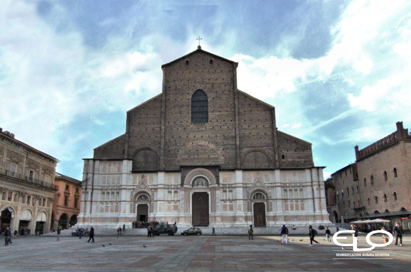 Umidità negli edifici storici Basilica di San Petronio
