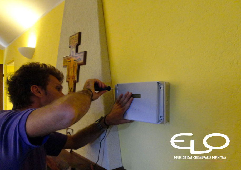 Installazione centralina elettrofisica