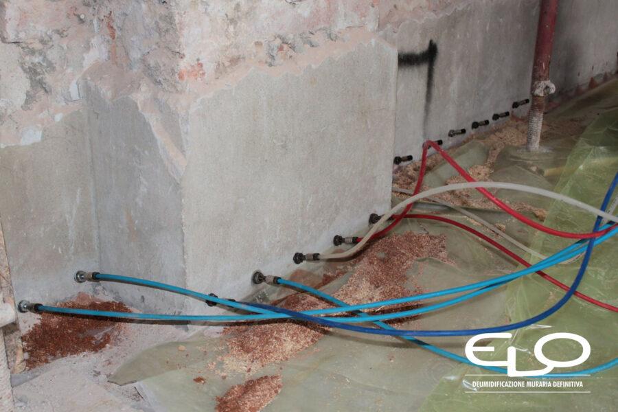 Efficacia delle barriere chimiche contro l'umidità di risalita
