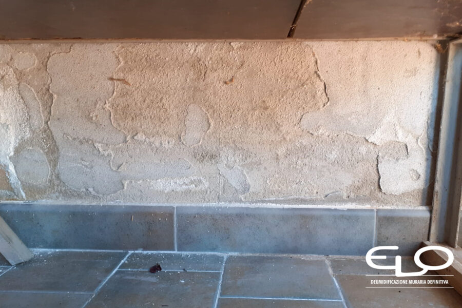 Cos'è l'umidità di risalita e quali danni provoca