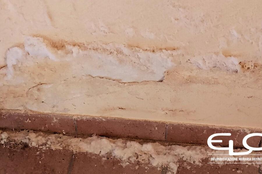 Rinzaffo antisale per una deumidificazione corretta dei muri