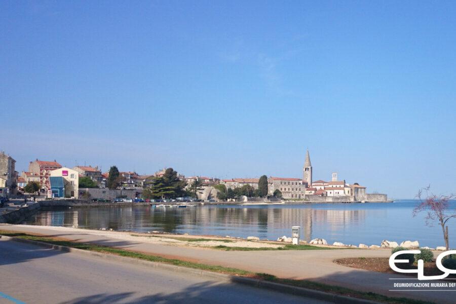 Deumidificazione di Palazzo storico in Croazia