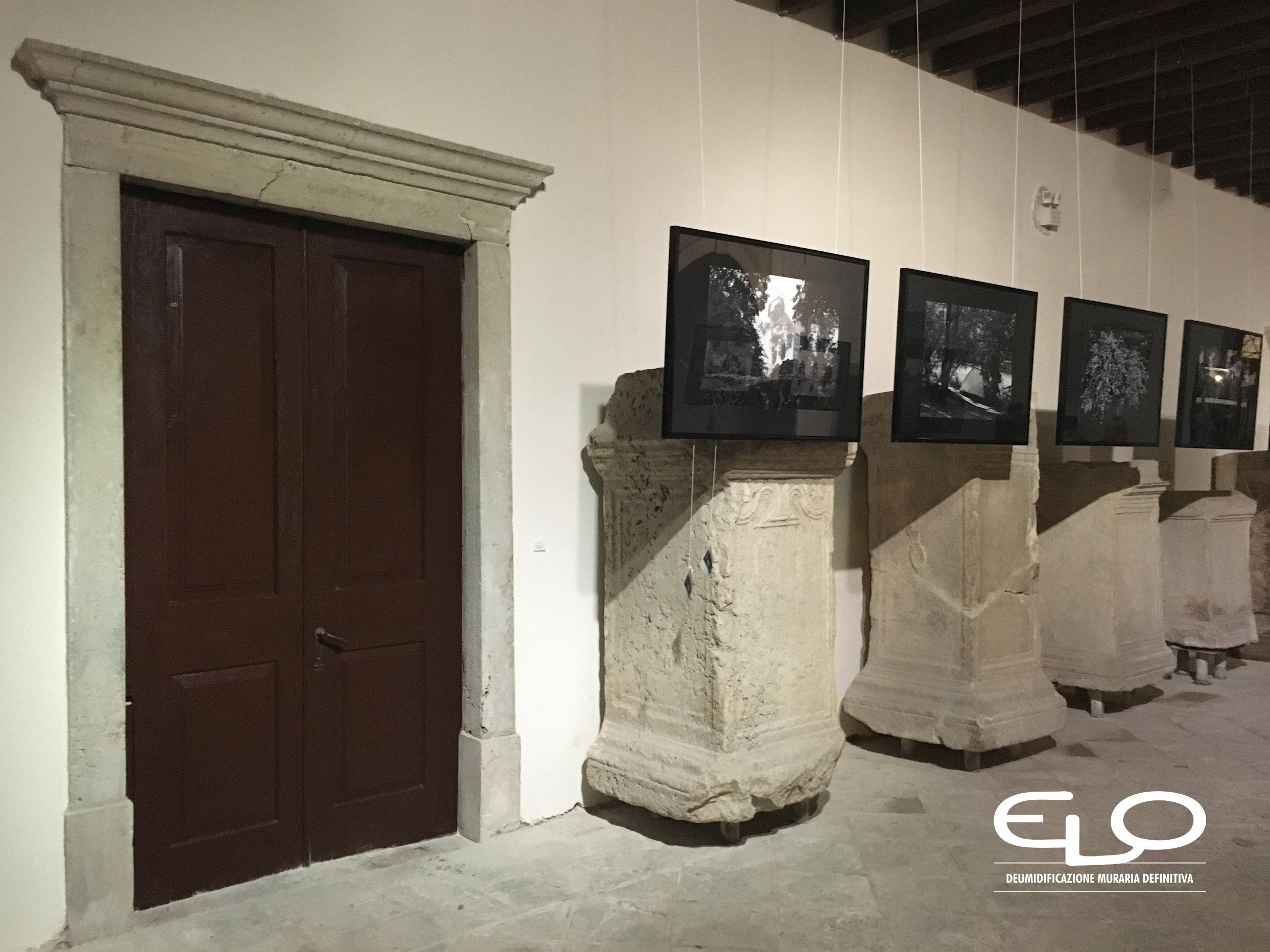 Deumidificazione di Palazzo storico in Croazia Parenzo Porec lapidario dopo la deumidificazione
